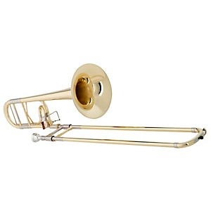 Getzen-4047DS-Custom-Reserve-Series-F-Attachment-Trombone-Lacquer-Yellow-Brass-Bell
