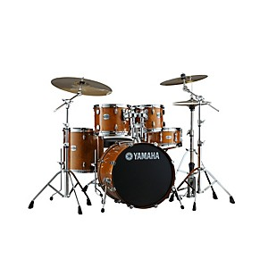 Yamaha-2013-Stage-Custom-Birch-Shell-Pack-with-20--Bass-Drum-Honey-Amber
