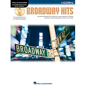 Hal-Leonard-Broadway-Hits-For-Horn---Instrumental-Play-Along-Book-CD-Standard