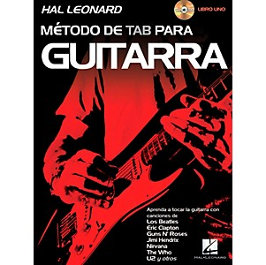 Hal-Leonard-Hal-Leonard-Guitar-Tab-Method-Book-1-Book-CD--Spanish-Edition--Standard