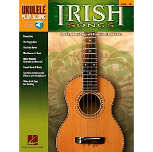 Hal-Leonard-Irish-Songs---Ukulele-Play-Along-Volume-18-Book-CD-Standard