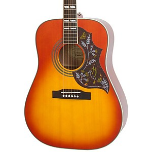 Epiphone-Hummingbird-PRO-Acoustic-Electric-Guitar-Faded-Cherry