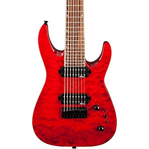 Jackson-JS32-8Q-Dinky-DKA-Quilted-Maple-Top-8-String-Electric-Guitar-Trans-Red
