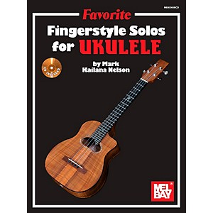 Mel-Bay-Favorite-Fingerstyle-Solos-for-Ukulele-Standard