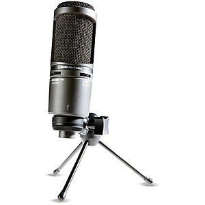 Audio-Technica-AT2020USB--Side-address-Cardioid-Condenser-USB-Microphone-Standard