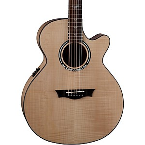 Dean-Performer-Ultra-Flame-Maple-Acoustic-Electric-Guitar-Natural