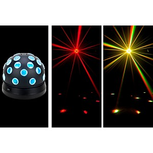 American-DJ-Mini-Tri-Ball-II-Rotating-LED-Color-Ball-Standard