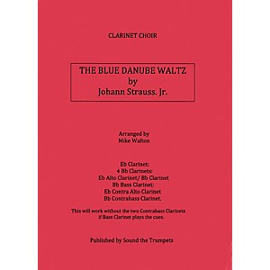 Carl-Fischer-Blue-Danube-Waltz--Book---Sheet-Music--Standard