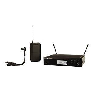 Shure-BLX14R-B98-Wireless-Horn-System-W-Rackmountable-Receiver-and-WB98H-C-frequency-H8