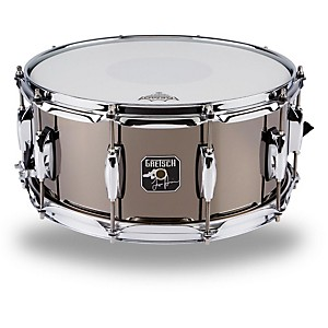Gretsch-Drums-Taylor-Hawkins-Signature-Snare-Drum-Black-Nickel-Over-Steel-6-5-x-14-Inch