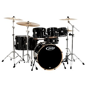 PDP-Concept-Maple-by-DW-7-Piece-Shell-Pack-Pearlescent-Black