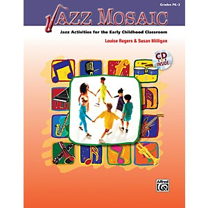 Alfred-Jazz-Mosaic--Book-CD--Standard