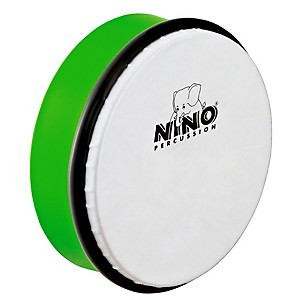 Nino-6--ABS-Hand-Drum-Grass-Green-6-Inch