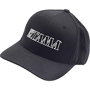 Tama-Fitted-Baseball-Cap-Black-Large-Extra-Large
