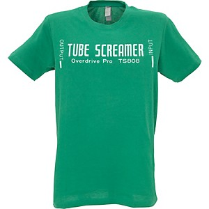 Ibanez-Tube-Screamer-T-Shirt-Green-Double-XL
