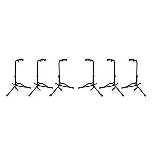 Musician-s-Gear-Tubular-Guitar-Stand-Regular-Black-6-Pack-Standard