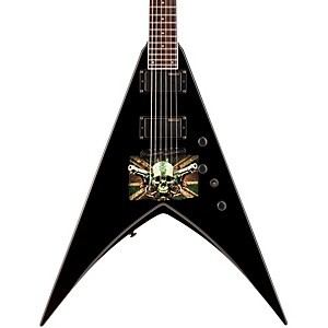 ESP-LTD-Michael-Paget-MP-330-V-Electric-Guitar-Graphic-Black