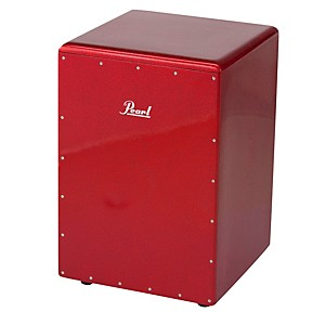 Pearl-Boom-Box-Cajon-Red-Sparkle