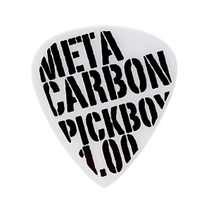 Pick-Boy-Meta-Carbonate-White-Guitar-Picks--10-pack--1-00MM