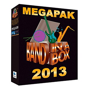 PG-Music-Band-in-a-Box-Pro-2013-MAC-MegaPAK--Mac-DVD--Standard