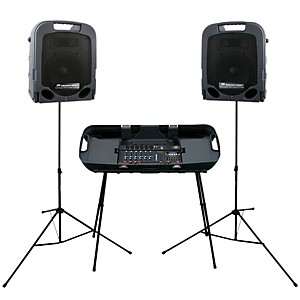 Peavey-Escort-3000-Self-Powered-Portable-PA-System-300-Watts-Standard