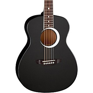 Luna-Guitars-Aurora-Borealis-3-4-Size-Acoustic-Guitar-Black-Sparkle