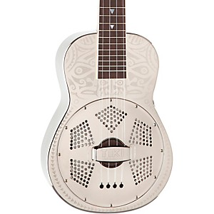 Luna-Guitars-Tiki-Resonator-Concert-Ukulele-Chrome-Plated