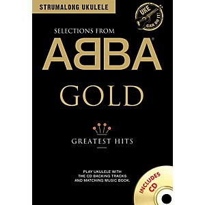 Music-Sales-ABBA-Gold---Greatest-Hits-from-Strum-Along-Ukulele-Series-Book-CD-Standard