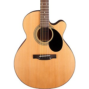 Jasmine-S-34C-Cutaway-Acoustic-Guitar-Natural