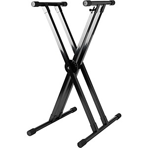 Strukture-Knockdown-2X-Keyboard-Stand-Black