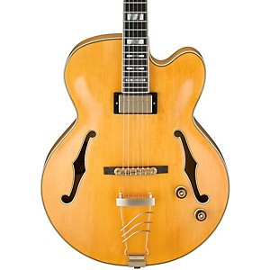 Ibanez-PM2-Pat-Metheny-Signature-Hollowbody-Electric-Guitar---Antique-Amber-Aged-Amber