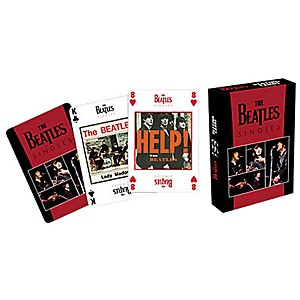 Hal-Leonard-The-Beatles-Playing-Cards--The-Singles--Standard
