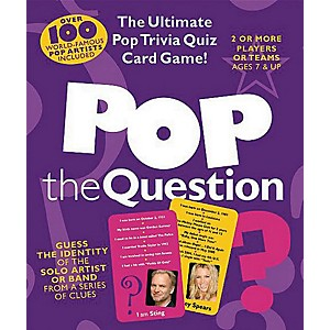 Music-Sales-Pop-The-Question---The-Ultimate-Pop-Trivia-Quiz-Card-Game-Standard