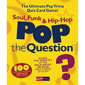 Music-Sales-Pop-The-Question-Soul--Funk---Hip-Hop---The-Ultimate-Pop-Trivia-Quiz-Card-Game-Standard