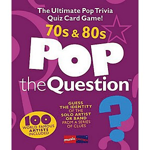 Music-Sales-Pop-The-Question-70-s---80-s---The-Ultimate-Pop-Trivia-Quiz-Card-Game-Standard