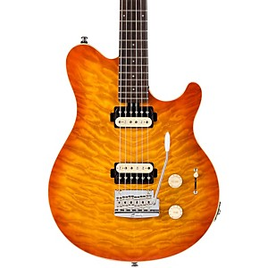 Sterling-by-Music-Man-AX30D-Electric-Guitar-Candy-Red-Burst