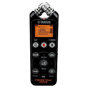 YAMAHA-POCKETRAK-PR7-2GB-Portable-Recorder-Standard