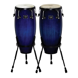 Schalloch-Linea-100-Series-2-Piece-Conga-Set-Blue-Burst