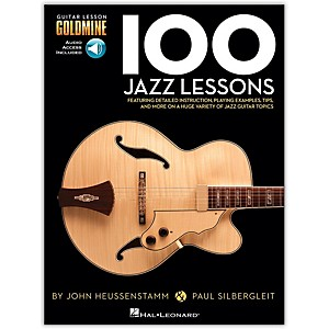 Hal-Leonard-100-Jazz-Lessons--Goldmine-Series-Book-CD-Standard