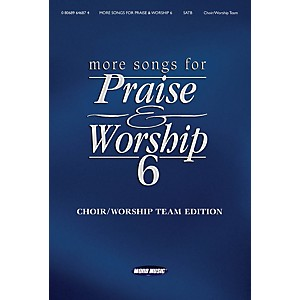 Word-Music-More-Songs-for-Praise---Worship---Volume-6-for-Piano-Vocal-Guitar-Standard