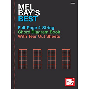 Mel-Bay-Mel-Bay-s-Best-Full-Page-4-String-Chord-Diagram-Book-Standard