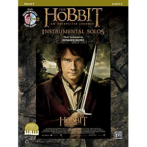 Alfred-The-Hobbit--An-Unexpected-Journey-Instrumental-Solos-Horn-in-F--Book-CD--Standard