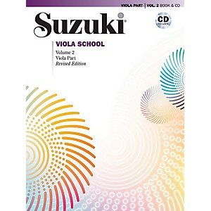 Alfred-Suzuki-Viola-School-Viola-Part---CD-Volume-2--Revised--Standard