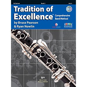 KJOS-Tradition-Of-Excellence-Book-2-for-Clarinet-Standard