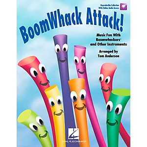 Hal-Leonard-BoomWhack-Attack--Music-Fun-With-Boomwhackers-and-Other-Instruments-Book-CD-Standard