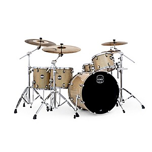 Mapex-MyDentity-4-Piece-Shell-Pack-Chrome-on-Gamma-Gold-Multi-Sparkle-Maple
