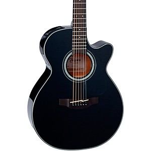 Takamine-G-Series-GF30CE-Cutaway-Acoustic-Guitar-Gloss-Black