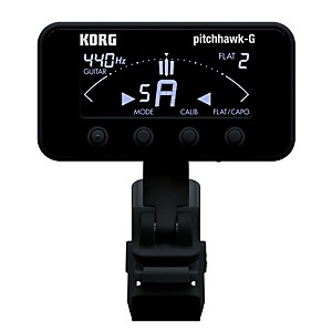 Korg-Pitchhawk-Clip-On-Tuner-Black