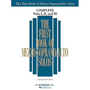 G--Schirmer-The-First-Book-Of-Mezzo-Soprano-Alto-Solos-Complete-Parts-1--2-and-3-Standard