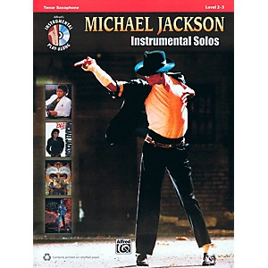 Hal-Leonard-Michael-Jackson---Instrumental-Solos-Play-Along-for-Tenor-Sax-Book-CD-Standard